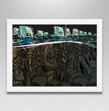 Витязи морские - Постеры, индеец, Популярные