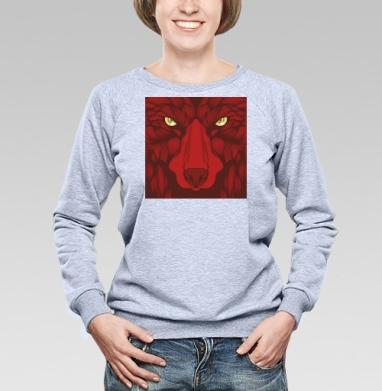 Квадратный волк - Купить детские свитшоты с волками в Москве, цена детских свитшотов с волками  с прикольными принтами - магазин дизайнерской одежды MaryJane