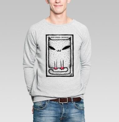 Катейка с лапками - Купить мужские свитшоты с животными в Москве, цена мужских свитшотов с животными  с прикольными принтами - магазин дизайнерской одежды MaryJane