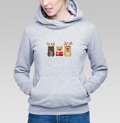 Новогодние радости - Купить детские толстовки с собаками в Москве, цена детских толстовок с собаками  с прикольными принтами - магазин дизайнерской одежды MaryJane