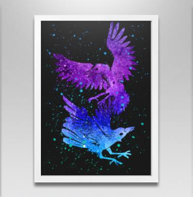 Вороны - Постеры, птицы, Популярные