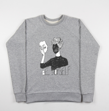 Будь собой - Купить детские свитшоты модные в Москве, цена детских свитшотов модных  с прикольными принтами - магазин дизайнерской одежды MaryJane