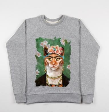 Фрида Кало моими глазами - Купить детские свитшоты с роами в Москве, цена детских свитшотов с розой с прикольными принтами - магазин дизайнерской одежды MaryJane