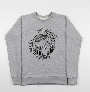 На встречу неизведанному - Купить мужские свитшоты с горами в Москве, цена мужских свитшотов с горами с прикольными принтами - магазин дизайнерской одежды MaryJane