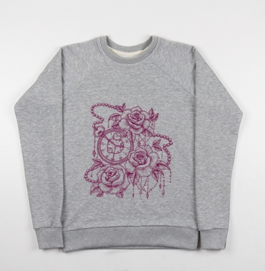 Пространство и время - Купить детские свитшоты с роами в Москве, цена детских свитшотов с розой с прикольными принтами - магазин дизайнерской одежды MaryJane