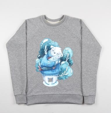 Рыба моя - Купить детские свитшоты с деревьями в Москве, цена детских свитшотов с деревьями  с прикольными принтами - магазин дизайнерской одежды MaryJane