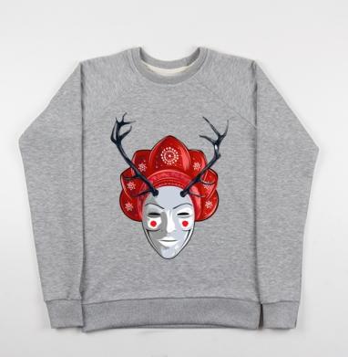 #русская#анонимус#хипстер#девушка - Купить детские свитшоты Россия в Москве, цена детских свитшотов Россия  с прикольными принтами - магазин дизайнерской одежды MaryJane