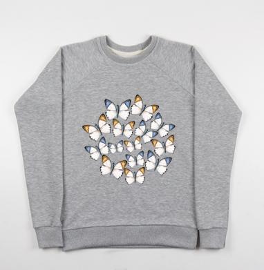 Бабочки - Купить детские свитшоты с насекомыми в Москве, цена детских свитшотов с насекомыми  с прикольными принтами - магазин дизайнерской одежды MaryJane