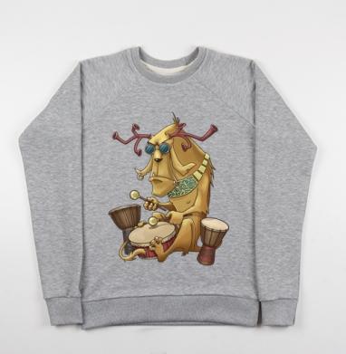 Барабаны - Купить детские свитшоты музыка в Москве, цена детских свитшотов музыкальных  с прикольными принтами - магазин дизайнерской одежды MaryJane