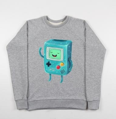 Бимо - Купить детские свитшоты с роботами в Москве, цена детских свитшотов с роботами с прикольными принтами - магазин дизайнерской одежды MaryJane