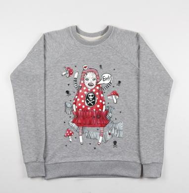 БУ - Купить детские свитшоты серые в Москве, цена детских свитшотов серых с прикольными принтами - магазин дизайнерской одежды MaryJane