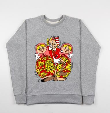 Буратино - Купить детские свитшоты секс в Москве, цена детских свитшотов секс  с прикольными принтами - магазин дизайнерской одежды MaryJane