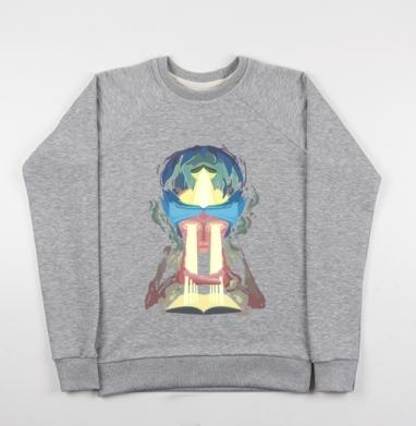 Через себя - Купить детские свитшоты с солнцем в Москве, цена детских свитшотов с солнцем с прикольными принтами - магазин дизайнерской одежды MaryJane