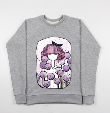 Дикий лук - Купить детские свитшоты с людьми в Москве, цена детских свитшотов с людьми  с прикольными принтами - магазин дизайнерской одежды MaryJane