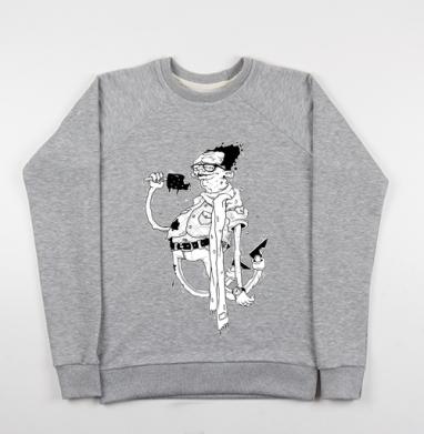 Дядька с мороженым - Купить детские свитшоты с людьми в Москве, цена детских свитшотов с людьми  с прикольными принтами - магазин дизайнерской одежды MaryJane