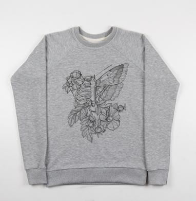 Flowers of my body - Купить детские свитшоты с крыльями в Москве, цена детских свитшотов с крыльями с прикольными принтами - магазин дизайнерской одежды MaryJane