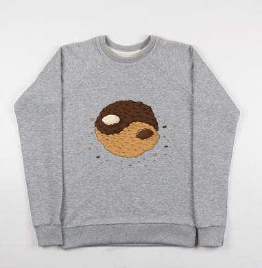 Инь-янь печеньк - Купить детские свитшоты с символами в Москве, цена детских свитшотов с символом с прикольными принтами - магазин дизайнерской одежды MaryJane