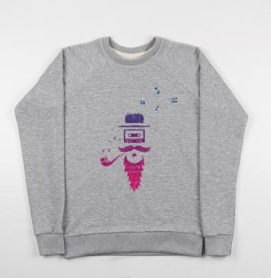Кассета - Купить детские свитшоты музыка в Москве, цена детских свитшотов музыкальных  с прикольными принтами - магазин дизайнерской одежды MaryJane