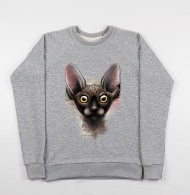 Коша - Купить детские свитшоты с кошками в Москве, цена детских свитшотов с кошками  с прикольными принтами - магазин дизайнерской одежды MaryJane