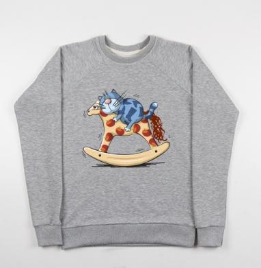 Кот в сапогах - Купить детские свитшоты со сказками в Москве, цена детских свитшотов со сказками  с прикольными принтами - магазин дизайнерской одежды MaryJane