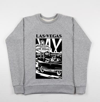 Лас Вегас  - Купить детские свитшоты с городами в Москве, цена детских свитшотов с городами  с прикольными принтами - магазин дизайнерской одежды MaryJane