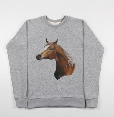 Лошадь - Купить детские свитшоты с илюстрациями в Москве, цена детских свитшотов с илюстрациями  с прикольными принтами - магазин дизайнерской одежды MaryJane