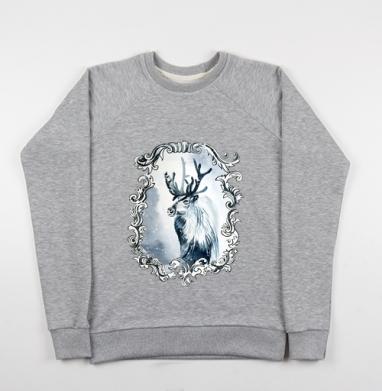 Олень из снежной королевы - Купить детские свитшоты со сказками в Москве, цена детских свитшотов со сказками  с прикольными принтами - магазин дизайнерской одежды MaryJane