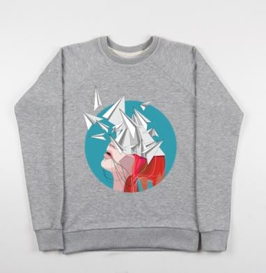 Полёт мысли - Купить детские свитшоты со сказками в Москве, цена детских свитшотов со сказками  с прикольными принтами - магазин дизайнерской одежды MaryJane
