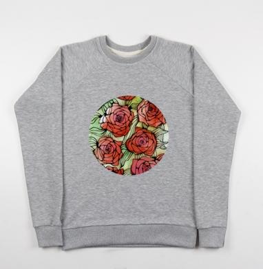 Розы - Купить детские свитшоты с роами в Москве, цена детских свитшотов с розой с прикольными принтами - магазин дизайнерской одежды MaryJane