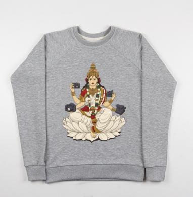 Saraswati - Купить детские свитшоты с йогой в Москве, цена детских свитшотов с йогой  с прикольными принтами - магазин дизайнерской одежды MaryJane