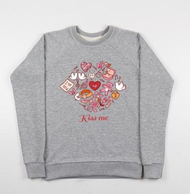 СЛАДКИЙ ЧМОК - Купить детские свитшоты секс в Москве, цена детских свитшотов секс  с прикольными принтами - магазин дизайнерской одежды MaryJane