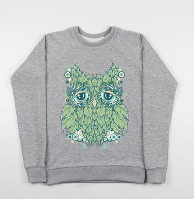 Сова - Купить детские свитшоты с природой в Москве, цена детских свитшотов с природой  с прикольными принтами - магазин дизайнерской одежды MaryJane