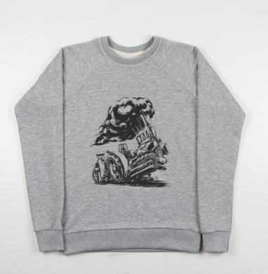 Трактор пуллинг - Купить детские свитшоты спортивные в Москве, цена детских свитшотов спортивных  с прикольными принтами - магазин дизайнерской одежды MaryJane