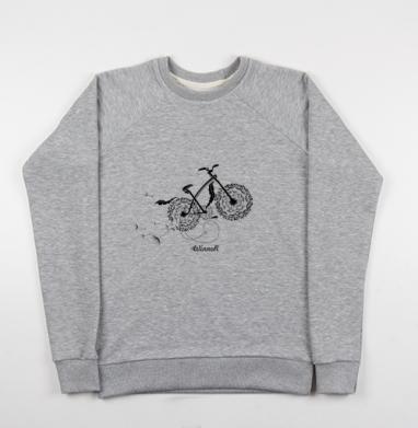Велосипед и одуванчики - Купить детские свитшоты с велосипедом в Москве, цена детских свитшотов с велосипедом с прикольными принтами - магазин дизайнерской одежды MaryJane