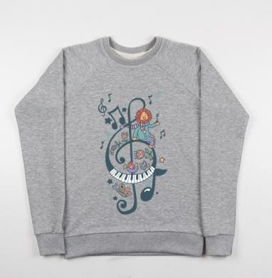 Волшебный ключик - Купить детские свитшоты музыка в Москве, цена детских свитшотов музыкальных  с прикольными принтами - магазин дизайнерской одежды MaryJane