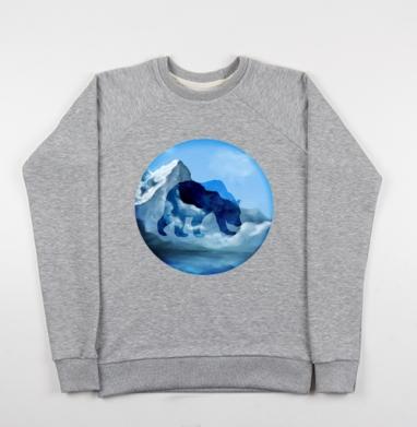 Хозяин зимы - Купить детские свитшоты с горами в Москве, цена детских свитшотов с горами с прикольными принтами - магазин дизайнерской одежды MaryJane