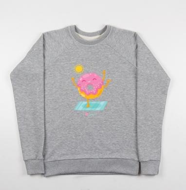 Йогопончик - Купить детские свитшоты с йогой в Москве, цена детских свитшотов с йогой  с прикольными принтами - магазин дизайнерской одежды MaryJane