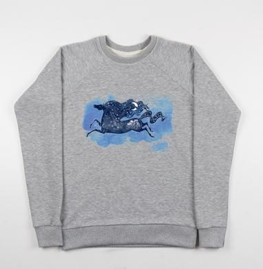 Зимняя ночь - Купить детские свитшоты со сказками в Москве, цена детских свитшотов со сказками  с прикольными принтами - магазин дизайнерской одежды MaryJane