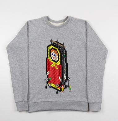 Матрешка - Купить детские свитшоты с городами в Москве, цена детских свитшотов с городами  с прикольными принтами - магазин дизайнерской одежды MaryJane
