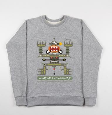 Mutusmakakas - Купить детские свитшоты с роботами в Москве, цена детских свитшотов с роботами с прикольными принтами - магазин дизайнерской одежды MaryJane