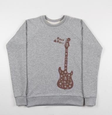 Rock&Roll - Купить детские свитшоты с черепом в Москве, цена детских свитшотов с черепом  с прикольными принтами - магазин дизайнерской одежды MaryJane