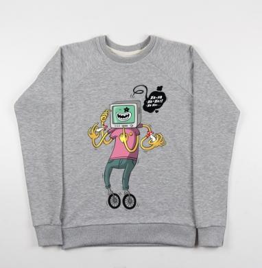 Xa-xa-xa - Купить детские свитшоты с велосипедом в Москве, цена детских свитшотов с велосипедом с прикольными принтами - магазин дизайнерской одежды MaryJane