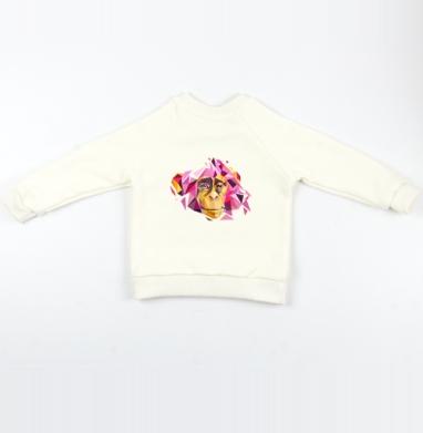 Обезьяна - Cвитшот Детский Экрю 320гр, стандарт, Популярные