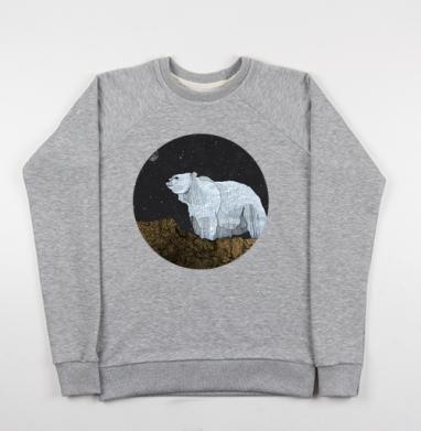 Мишка - Купить мужские свитшоты с горами в Москве, цена мужских свитшотов с горами с прикольными принтами - магазин дизайнерской одежды MaryJane