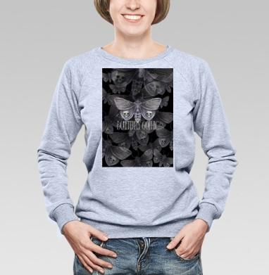 Бабочка готика - Купить детские свитшоты с надписями в Москве, цена детских свитшотов с надписями  с прикольными принтами - магазин дизайнерской одежды MaryJane