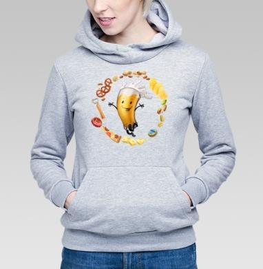 Любимый пивасик - Купить детские толстовки с едой в Москве, цена детских толстовок с едой  с прикольными принтами - магазин дизайнерской одежды MaryJane