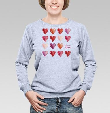Всё что нам нужно - это только любовь - Купить детские свитшоты с любовью в Москве, цена детских свитшотов с любовью  с прикольными принтами - магазин дизайнерской одежды MaryJane