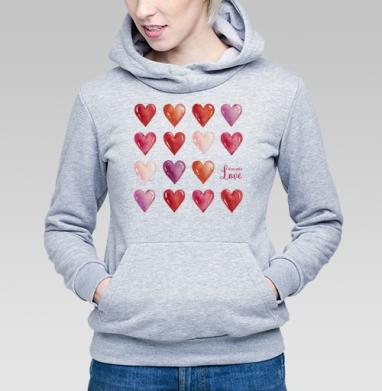 Всё что нам нужно - это только любовь - Купить детские толстовки с любовью в Москве, цена детских толстовок с любовью  с прикольными принтами - магазин дизайнерской одежды MaryJane