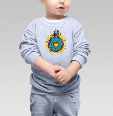 Взрывной пончик - Купить детские свитшоты АК-47 в Москве, цена детских свитшотов автомат Калашникова  с прикольными принтами - магазин дизайнерской одежды MaryJane