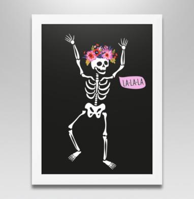 Веселый Роджер, Постер в белой раме